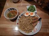 三豊麺のつけ麺メンマねぎトッピング