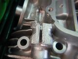 20号機用クランクケース修理 (2)