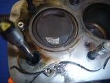 1号レーサーオイル漏れ修復と原因 (2)