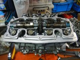 1号機エンジン腰上組立て190630 (5)