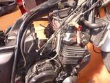 CB400SFエンジン始動 (1)