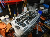 まっきーRエンジン腰上組立 (6)
