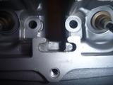 まっきーレーサー用エンジンヘッド凹み修正 (2)