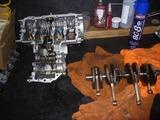 160311の残業レーサーエンジン分解洗浄 (4)