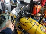 CB350RCP24号機再レーサー仕様に変更210510 (5)