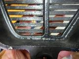 当時物フクイCB400Four用アルフィンカバー修理依頼 (2)