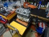 GTH号エンジン復旧搭載 (1)