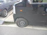 嫁の車パンク修理修理 (1)