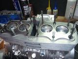 5年熟成398エンジン腰上組立て (2)