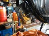 CB400国内398ccCP25号機オイルパン、フィルターケース取り付け (1)