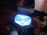 ディオZX HID点灯テスト (2)