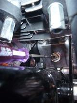 1号レーサーカムチェーン調整と増し締め (2)