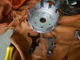 高槻O様CB400クラッチ、ミッション系不具合調査210920 (16)