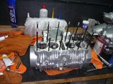 CPレーサーエンジン腰下組立て (2)