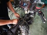 8号機純正キャブ同調調整中のバッテリー突然死 (2)