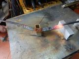CB350Rカウルアッパー側ステー製作二日目 (2)
