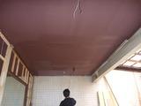 天井塗装 (2)