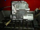 まっきーレーサーエンジンアッパーケース下拵え (4)