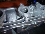 500cc化ヘッド修正完了