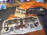 18号機用エンジン整備開始 (2)