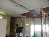 天井塗装 (1)