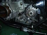 オイル滲み車両修理その1 (1)