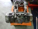 398cc用クランクケースブラスト仕上げ (4)