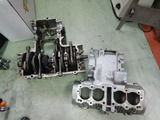 398cc用クランクケースブラスト仕上げ (1)