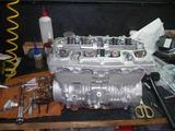 レーサーエンジン腰上組立て (4)