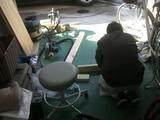 収納棚製作 (1)