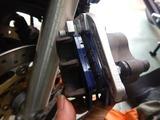 CB400SFブレーキパット交換 (3)