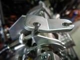 名古屋I様CB400CRキャブワイヤー取り付け方法加工 (1)