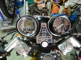 旧CP1号レーサー改め24号機デジタルメーター取付 (2)