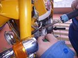 Z50Z配線応急処置