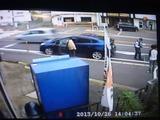 追突事故防犯カメラ