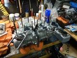 まっきーRエンジン腰上組立 (3)