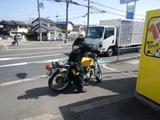 黄色い運CB400F引取り納車210331