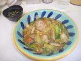 四川ラーメンの中華丼