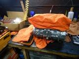 闇を抱えたエンジン腰下リボーンピストン重量合わせ完了