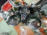 CB400国内398cc25号機メーター周り仕上げ (3)