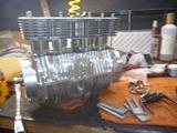 ジャイアン号エンジン組立腰上 (2)