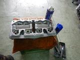 沖縄A様CB400シリンダーヘッドリタップ掃除の罠210702 (1)