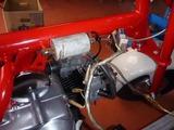 M型モンキーエンジン始動準備