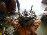 モンキーZ50Jエンジン分解200921 (4)