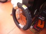2号機タイヤ交換準備 (2)