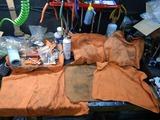 エンジン組み立て室作業台開放201009