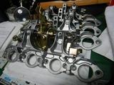 CB400国内398ccCP25号機用ステープレート組み立て