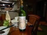 柏原産白ワインと対戦&退治 (1)