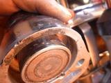 フロントブレーキ洗浄 (1)