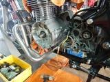 沖縄A様CB400エンジンマウント取り付け210805 (4)
